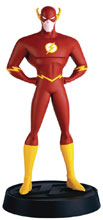 Image: DC Justice League The Animated Series Figure Collectible Series 1 #7 (Flash) - Eaglemoss Publications Ltd