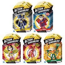 Image  Action Bendables Justice League 12-Piece Figure Assortment - N J  Croce Company c996677a3