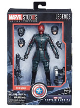 Image: Marvel MCU 10th Anniversary Cap America 1 Action Figure Set Case  - Hasbro Toy Group