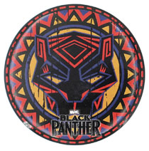 Image: Marvel Black Panther Magnet: Tribal Button  - Monogram Products