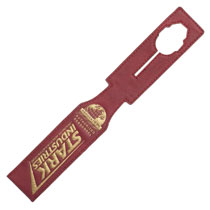 Image: Marvel Luggage Tag: Iron Man - Stark Industries  (Strap Style) - Bioworld Merchandising