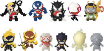 Image: Marvel Venom 3D Figural Keyring 24-Piece Blind Mystery Box Display  - Monogram Products