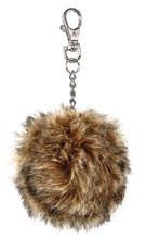 Image: Star Trek: TOS Tribble Plush Keychain 24-Count Display  - Crowded Coop, LLC