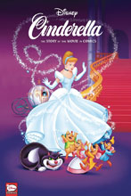 Image: Disney Cinderella: Story of Movies in Comics HC  - Dark Horse Comics