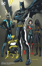 Image: Batman and the Outsiders #8 (variant cover - Kevin Nowland) - DC Comics
