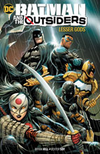 Image: Batman and the Outsiders Vol. 01: Lesser Gods SC  - DC Comics