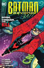 Image: Batman Beyond Vol. 06: Divide, Conquer and Kill SC  - DC Comics