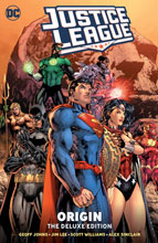 Image: Justice League: Origin: The Deluxe Edition HC  - DC Comics