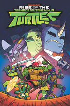 Image: Teenage Mutant Ninja Turtles: Rise of the TMNT Vol. 03: Sound Off SC  - IDW Publishing
