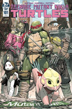 Image: Teenage Mutant Ninja Turtles #101 (incentive 1:10 cover - Weaver) - IDW Publishing