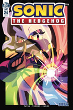 Image: Sonic the Hedgehog #24 (incentive 1:10 cover - Fourdraine) - IDW Publishing