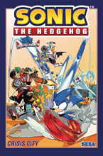 Image: Sonic the Hedgehog Vol. 05: Crisis City SC  - IDW Publishing