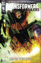 Image: Transformers Galaxies #4 (cover A - Ramondelli) - IDW Publishing