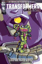 Image: Transformers Galaxies #4 (incentive 1:10 cover - Neofotistou) - IDW Publishing