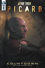 Image: Star Trek: Picard - Countdown #2 (cover A - Pitre-Durocher) - IDW Publishing