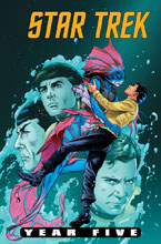 Image: Star Trek: Year Five #9 (cover A - Thompson) - IDW Publishing