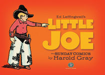Image: Little Joe Harold Gray HC  - IDW Publishing