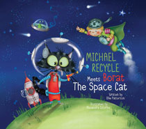 Image: Michael Recycle & Borat Space Cat HC  - IDW Publishing