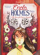 Image: Enola Holmes Vol. 03: Case of the Bizarre Bouquets HC  - IDW Publishing
