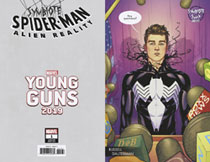 Image: Symbiote Spider-Man: Alien Reality #1 (variant Young Guns cover - Dauterman) - Marvel Comics