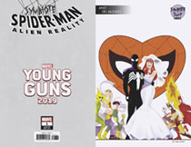 Image: Symbiote Spider-Man: Alien Reality #1 (variant Young Guns cover - Del Mundo) - Marvel Comics