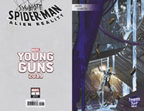 Image: Symbiote Spider-Man: Alien Reality #1 (variant Young Guns cover - Garron) - Marvel Comics