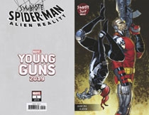 Image: Symbiote Spider-Man: Alien Reality #1 (variant Young Guns cover - Kuder) - Marvel Comics