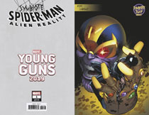 Image: Symbiote Spider-Man: Alien Reality #1 (variant Young Guns cover - Larraz) - Marvel Comics