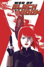 Image: Web of Black Widow #4 (incentive 1:25 cover - Mok) - Marvel Comics