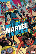 Image: History of Marvel Universe #6 (variant cover - Rodriguez) - Marvel Comics