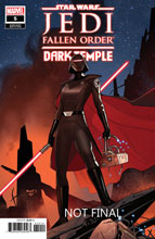 Image: Star Wars: Jedi Fallen Order - Dark Temple #5 (incentive 1:10 cover - Renaud) - Marvel Comics