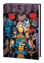 Image: Astonishing X-Men: Whedon Cassaday Omnibus Vol. 01 HC  (variant DM cover) (new printing) - Marvel Comics