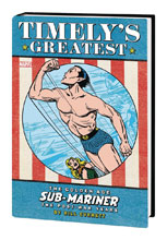 Image: Timely's Sub-Mariner: Everett Post-War Omnibus HC  (variant DM cover) - Marvel Comics