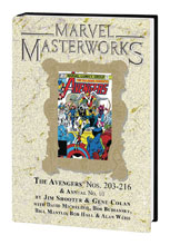 Image: Marvel Masterworks Avengers Vol. 20 HC  (variant DM cover) (289) - Marvel Comics