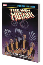 Image: New Mutants Epic Collection: Demon Bear Saga SC  (variant DM cover) (new printing) - Marvel Comics