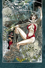 Image: Vampirella Vol. 05 #6 (incentive 1:40 cover - March virgin) - Dynamite