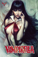 Image: Vampirella #6 (variant ultra limited red foil cover - Artgerm) - Dynamite