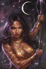 Image: Dejah Thoris #1 (2019) (variant cover - Parrillo virgin) - Dynamite