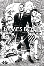 Image: James Bond #1 (incentive 1:10 cover - Cheung B&W) - Dynamite