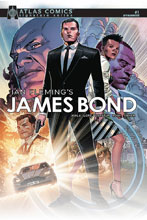 Image: James Bond #1 (signed - Ayala & Lore) (Atlas edition) - Dynamite