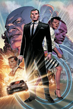 Image: James Bond #1 (variant cover - Cheung virgin) - Dynamite