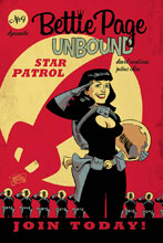 Image: Bettie Page: Unbound #9 (cover B - Chantler) - Dynamite