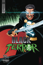 Image: Black Terror #3 (cover C - Marron) - Dynamite