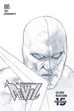 Image: Death-Defying Devil Vol. 02 #5 (incentive 1:10 cover - Federici B&W) - Dynamite