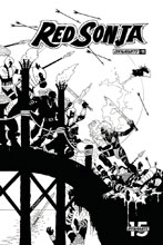 Image: Red Sonja Vol. 05 #11 (incentive 1:20 cover - Conner B&W) - Dynamite