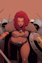 Image: Red Sonja Vol. 05 #11 (incentive 1:40 cover - Pham virgin) - Dynamite