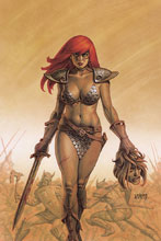 Image: Red Sonja #11 (variant cover - Linsner virgin) - Dynamite