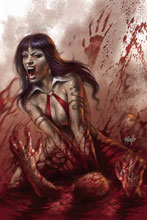 Image: Vengeance of Vampirella #3 (variant cover - Parrillo virgin) - Dynamite