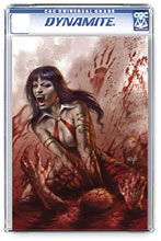 Image: Vengeance of Vampirella #3 (variant CGC Graded cover - Parrillo) - Dynamite