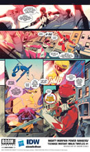 Image: Mighty Morphin Power Rangers / Teenage Mutant Ninja Turtles #1 - Boom! Studios